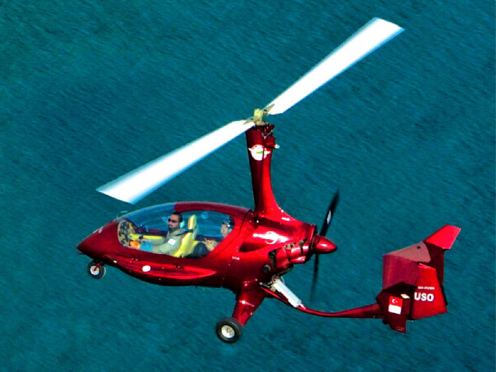 Gyrocopter Uçuşu