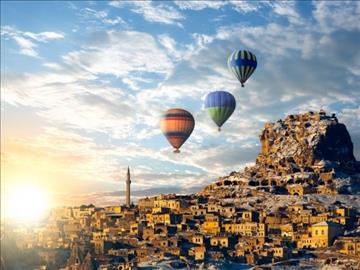 Kapadokya Turu / Perşembe Akşamı Hareket 2 Gece Otel Konaklaması