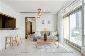 1br Bright Apt For 4 Guests By Guestready Steps Away From Burj Khalifa