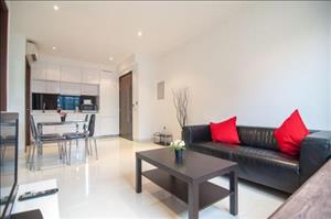 2br Queenstown Newton Orchard Novena Buona Vista With Cozy Living Room   Furnished Kitchen