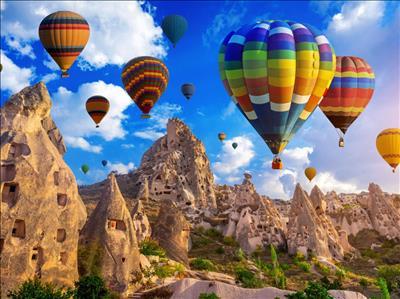 23 Nisan Özel Uçaklı Kapadokya Kayseri Turu