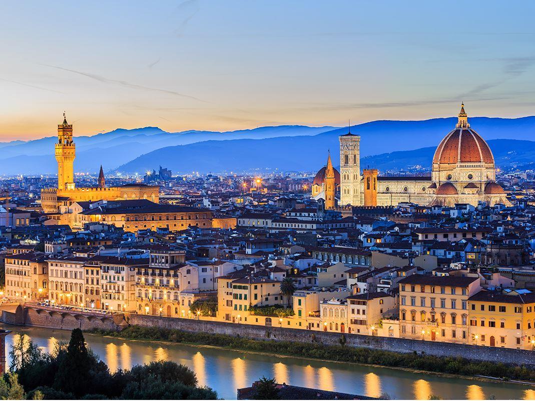 Roma (2) & Floransa (2)  (Pegasus Hava yolları İle )