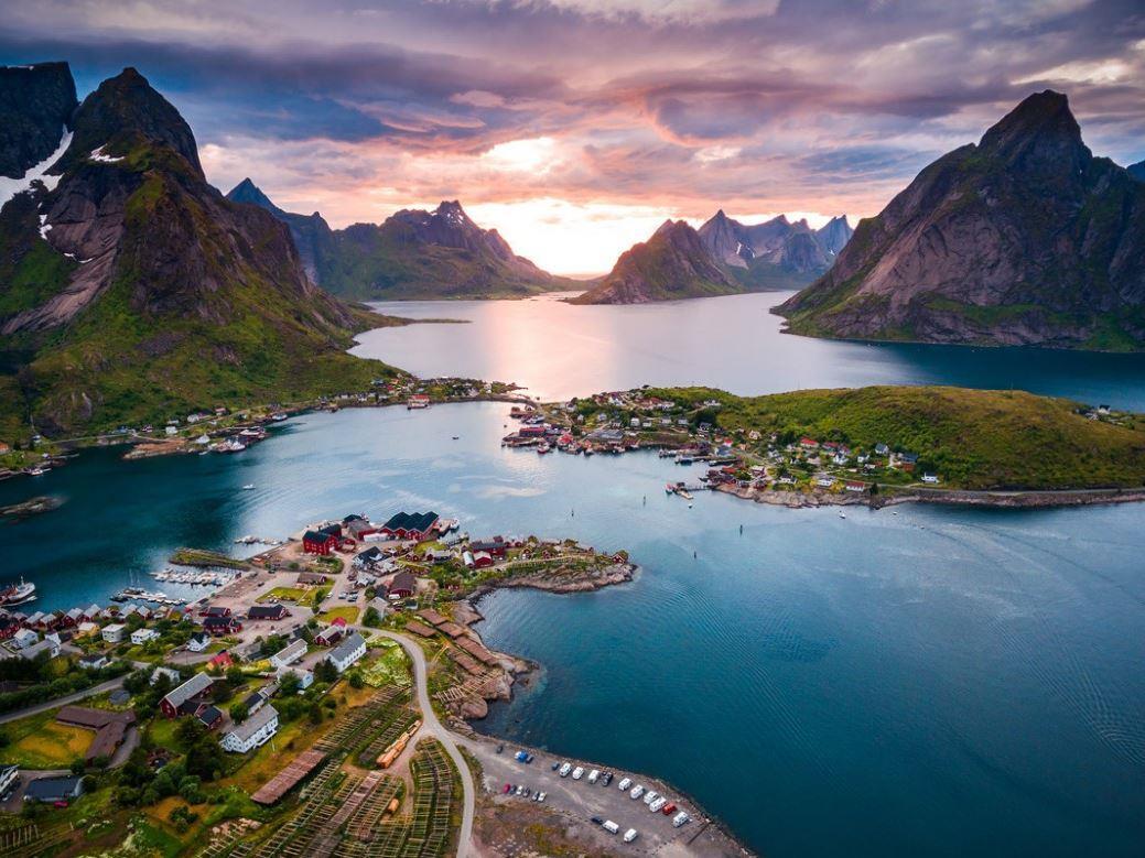 Baştanbaşa İskandinavya Ve Büyük Fiyordlar 18, 25 Haziran & 02, 09, 16 Temmuz 2020