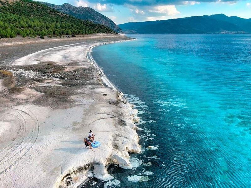 Kurban Bayramı Özel Türkiye'nin Maldivleri Salda Gölü Çeşme Alaçatı Turu