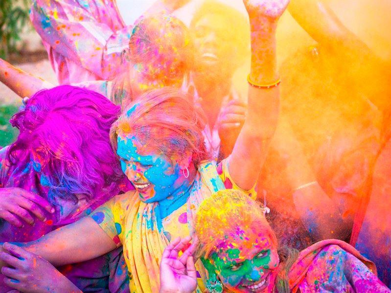 Hindistan Holi Festivali Turu Qatar Aırways İle 16 Mart 2019