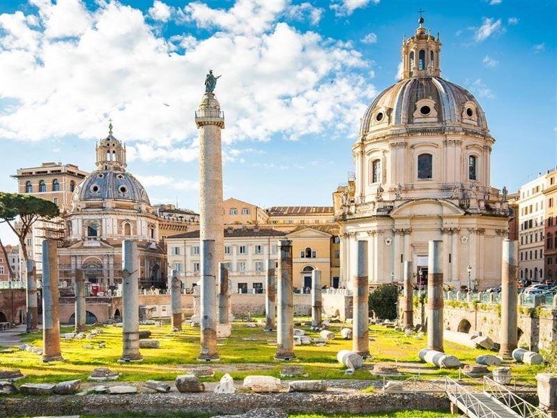 Klasik İtalya Turu Türk Hava Yolları İle Roma Gidiş-Roma Dönüş/Ankara'dan Direk Uçuş İle