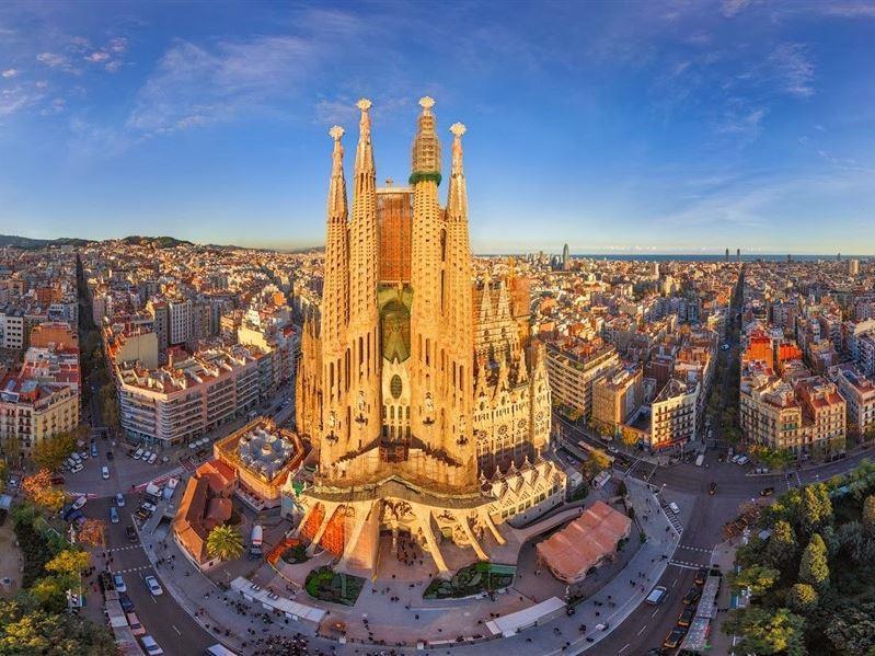 Ara Tatil Büyük İspanya Turu 18 Kasım 2019 Hareket (Barselona Gidiş-Madrid Dönüş)