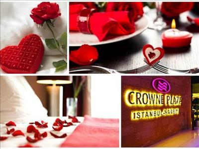 Sevgilier Günü'nde Crowne Plaza Harbiye'de Unutulmaz Bir Gece