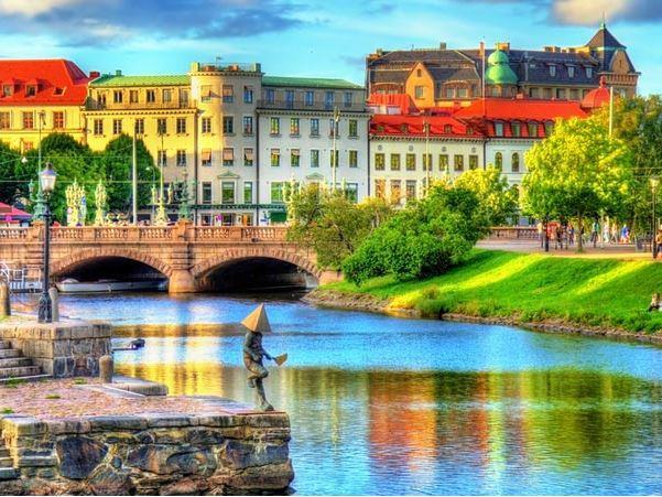 İskandinavya Pegasus Havayolları ( Stockholm gidiş - Kopenhag dönüş )