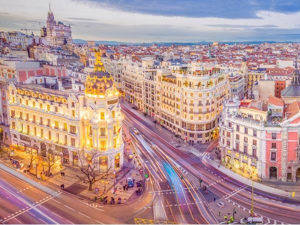 Büyük İspanya Pegasus Havayolları (Barcelona (2)–Valencia (1)–Granada (1)-Sevilla (1)-Madrid (2) Kurban Bayramı