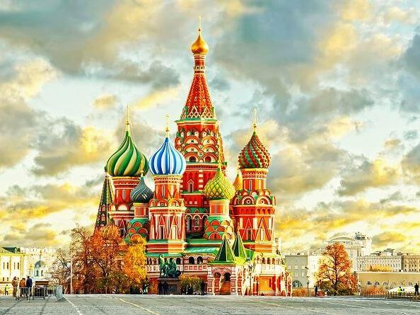 St.Petersburg & Moskova 5 gece Türk Havayolları