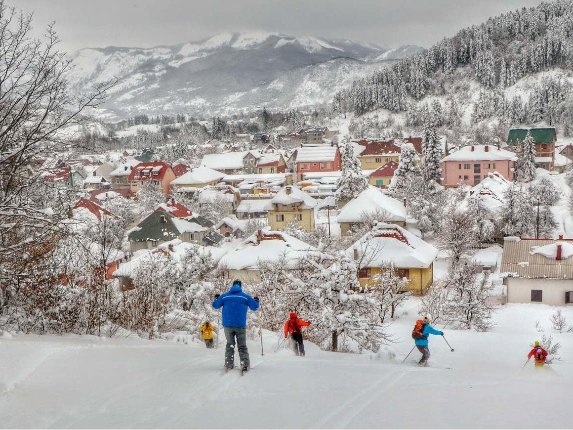 Karadağ Kolaşin Kayak Turu - Türk Havayolları ile 3 Gece 4 Gün
