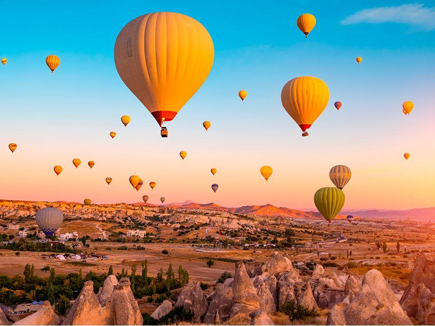 Kapadokya Turu 2 Gece Konaklamalı 3 Gece 4 Gün İstanbul İzmit Çıkışlı 29 Ekim Özel