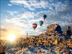 29 Ekim Özel Uçaklı Kapadokya Kayseri Turu