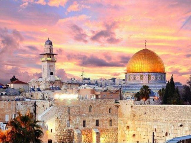 Miraç Gecesi Özel Kudüs & Tel Aviv Turu - Pegasus Havayolları ile 4 Gece 5 Gün (VİZE ve AKŞAM YEMEKLERİ DAHİL)