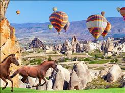 29 Ekim Uçaklı Kapadokya Kayseri Turu