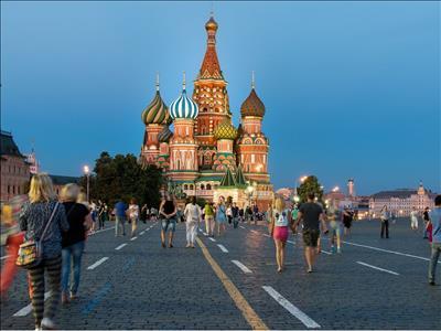 Rusya Resitali Turu (St. Petersburg & Moskova) - Türk Havayolları ile 5 Gece 6 Gün