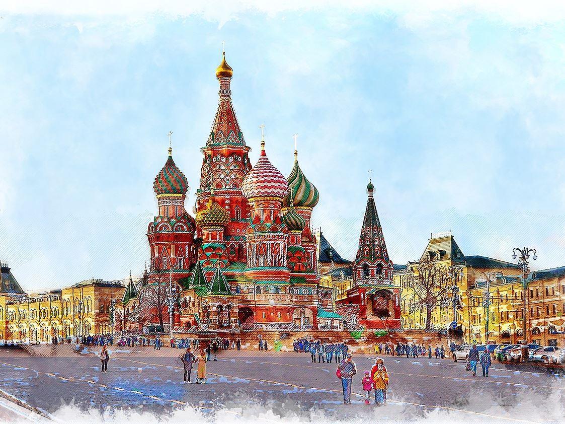 Rusya'da Kuzey Işıkları